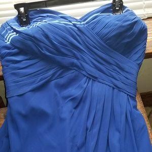 Bill Levkoff Royal Blue Bridesmaid dress